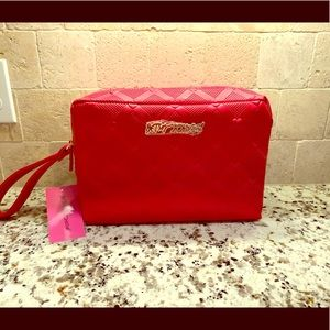 Brand 🆕 Bright Red Cosmetic Juicy Couture Bag